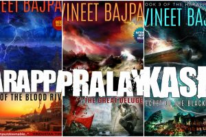 Harappa Trilogy of  Vineet Bajpai to be retold on silver screen