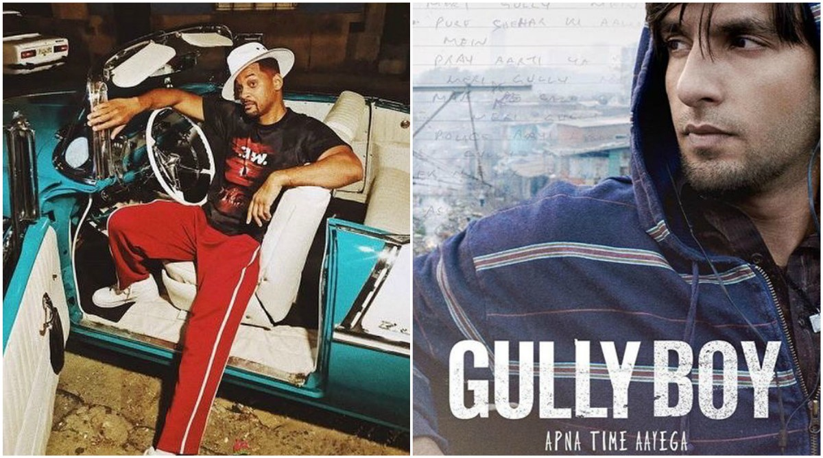 Ranveer Singh shines in Gully Boy and Will Smith is loving it