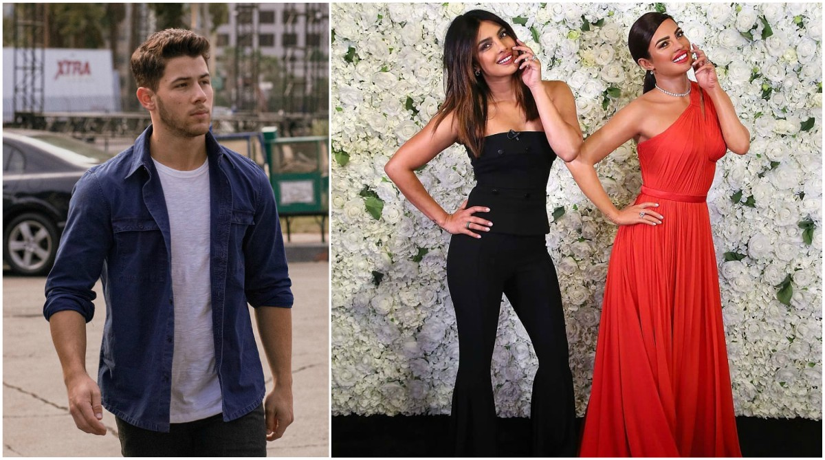 "Nick Jonas responds to Priyanka Chopra's wax statue with a ""weird flex"""