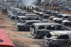 300 vehicles gutted in massive fire at parking lot near Aero India show in Bengaluru