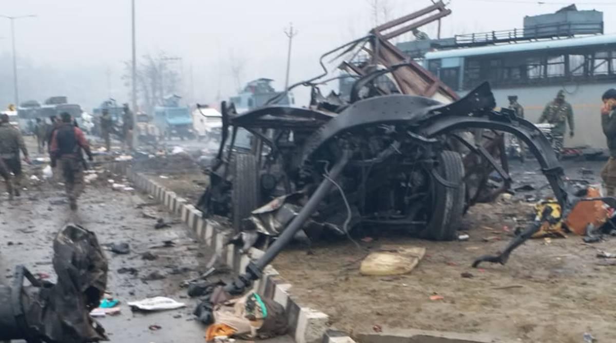 Suicide attack, IED blast, suicide blast, explosion, CRPF, terrorists, Letapora, J-K encounter, Pulwama terror attack, terror attack, Uri attack