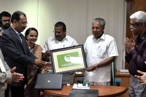 CM Vijayan launches Coconics logo, Kerala set to get its own laptop brand