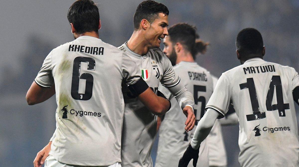 Cristiano Ronaldo, Juventus, Sassuolo, CR7, Atletico Madrid, Atlanta