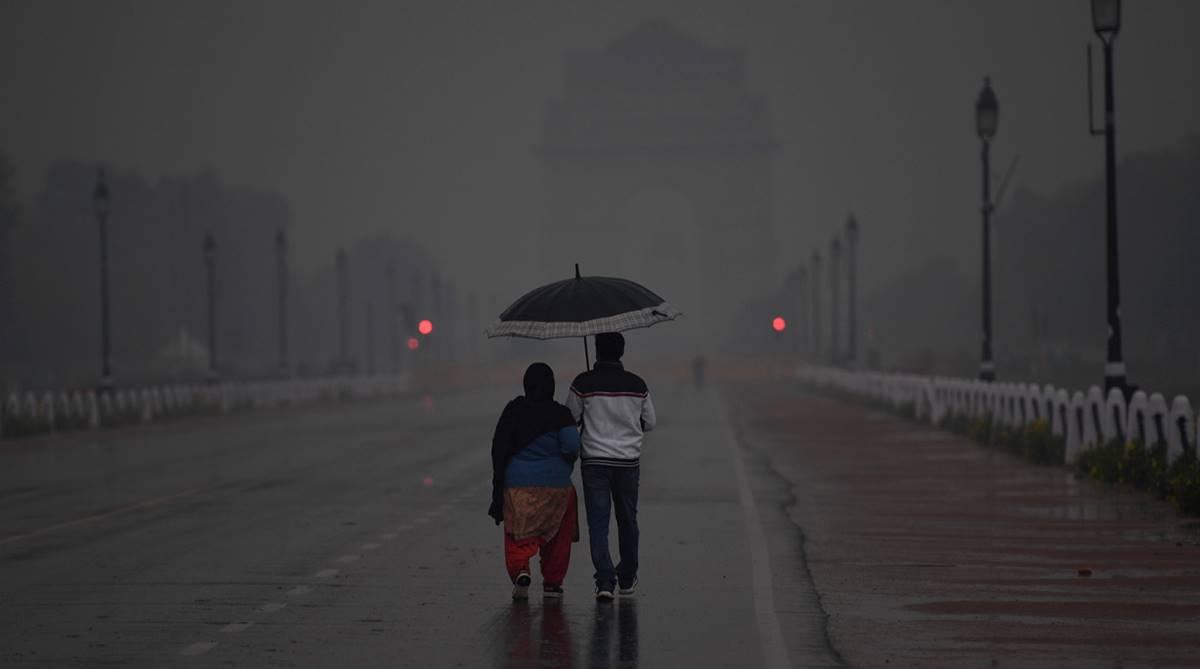 Delhi weather today, Delhi weather, Delhi rain, IMD, weather forecast, Delhi AQI, SAFAR