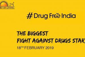 Drug Free India campaign by Art of Living to be launched next week