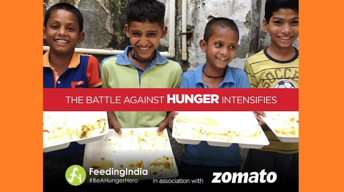 Zomato, Feeding India, Queen of England, United Nations World Food Program, Prime Minister of India