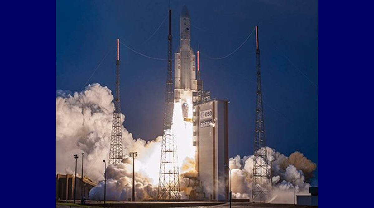 GSAT-31, ISRO, communication satellite, French Guiana, Dr K Sivan, Arianespace, S Pandian