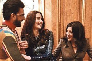 Gully Boy 'trinity' Ranveer Singh, Alia Bhatt and Zoya Akhtar cause a stir at Berlin Film Festival