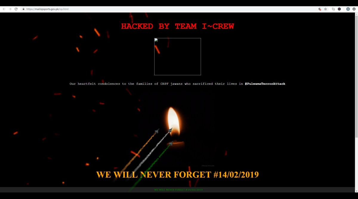 Pakistan websites, Team I Crew, Pulwama terror attack, Jaish-e-Mohammed, Pakistan, Ministry of Foreign Affairs, Pakistan website hacked