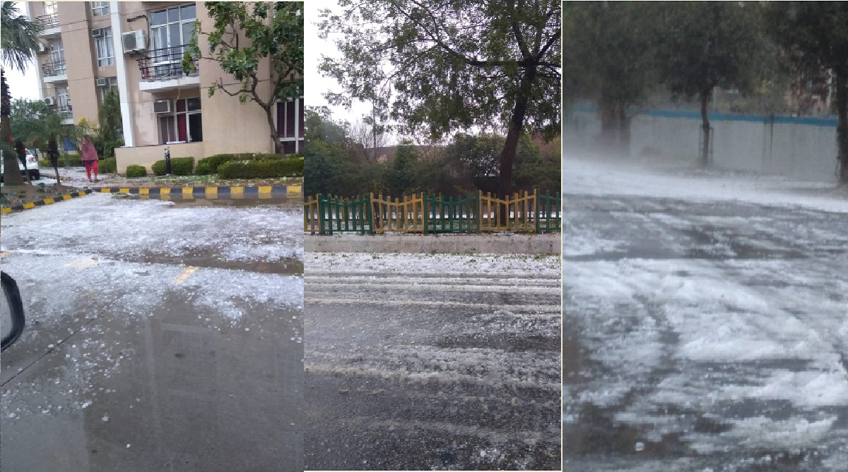 Delhi, NCR, Rain, Hailstorm, Noida, Indian Meteorological Department, IMD
