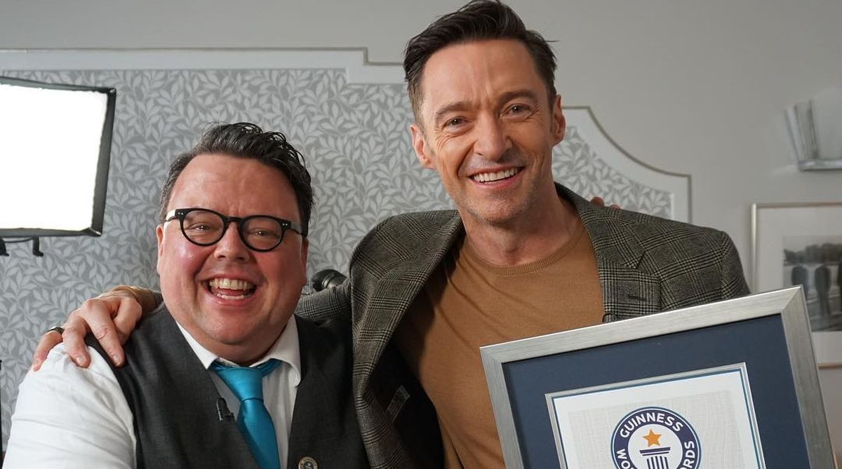 Hugh Jackman earns Guinness World Record for playing Wolverine