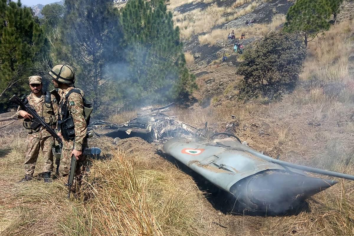 India protests 'vulgar display' of injured IAF pilot by Pakistan, demands his safe return