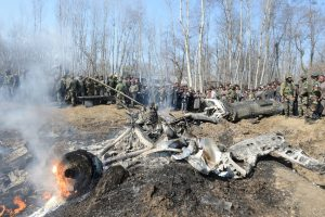 Six IAF personnel, civilian killed in chopper crash