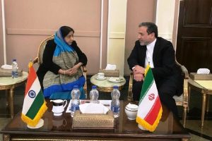 Sushma Swaraj makes 'ad hoc' stopover in Tehran, Iran to support India in fight against terror