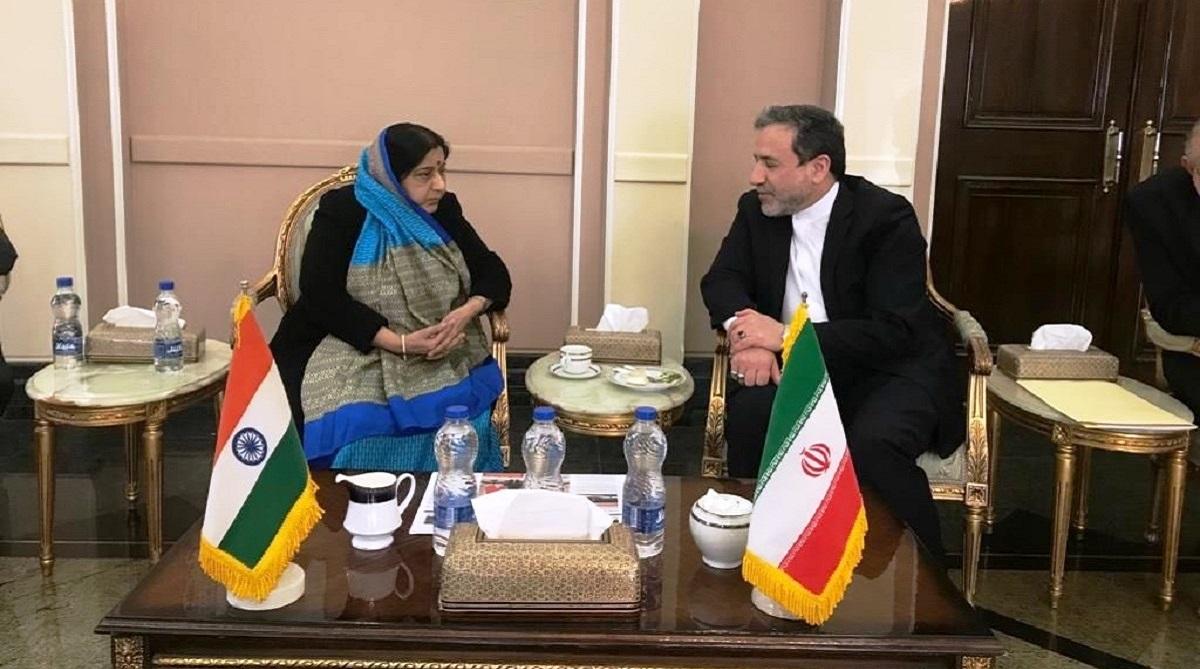 Sushma Swaraj makes 'ad hoc' stopover in Tehran, Iran to support India in fight against terror