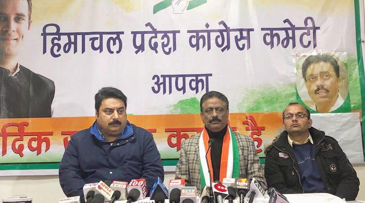 BJP flag, Himachal BJP, Himachal Congress, Himachal Pradesh, Kuldeep Singh Rathore, CEC