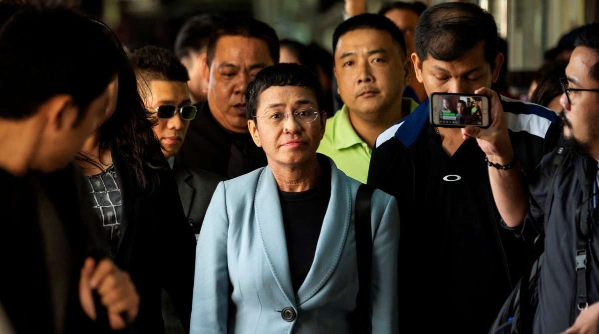 ANN, Press freedom, Philippines, Arrest, Rappler, Maria Ressa