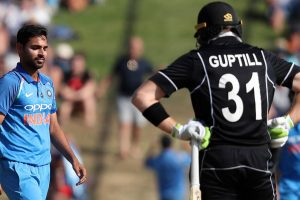 India vs New Zealand 5th ODI: Injured Martin Guptill likely to be ruled out