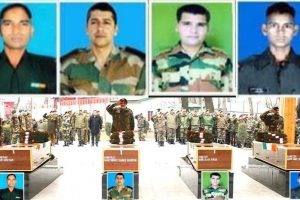 Pulwama encounter: Tributes paid to martyred soldiers, J-K cop