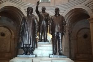 Statues, courts and restitution