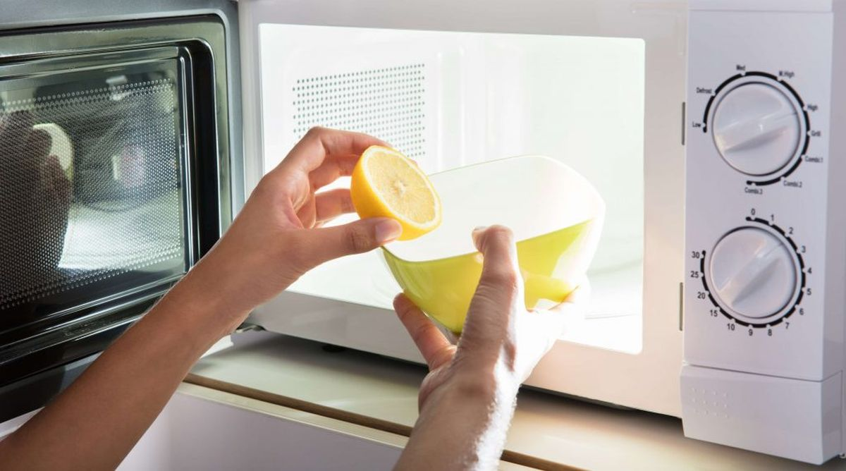Microwaves Ultra Clean And Germ Free