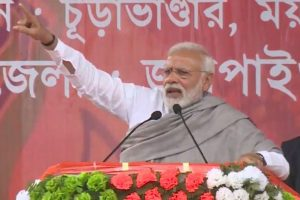 PM Modi launches frontal attack on Mamata Banerjee in West Bengal