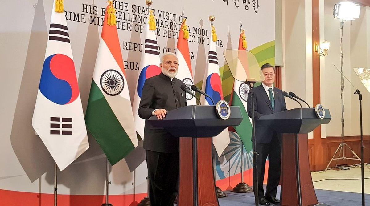 Samsung, Samsung Electronics, Hyundai Motor, Narendra Modi, Seoul, South Korea, Cheong Wa Dae, Moon Jae-in