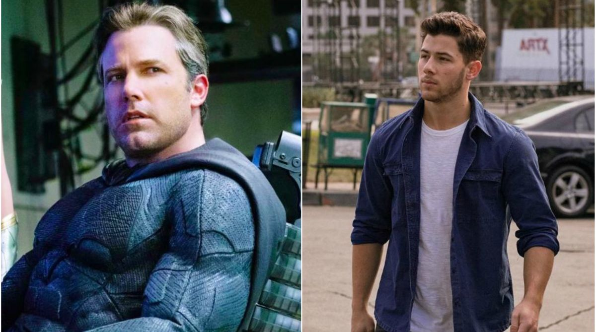 Nick Jonas, Ben Affleck, Batman