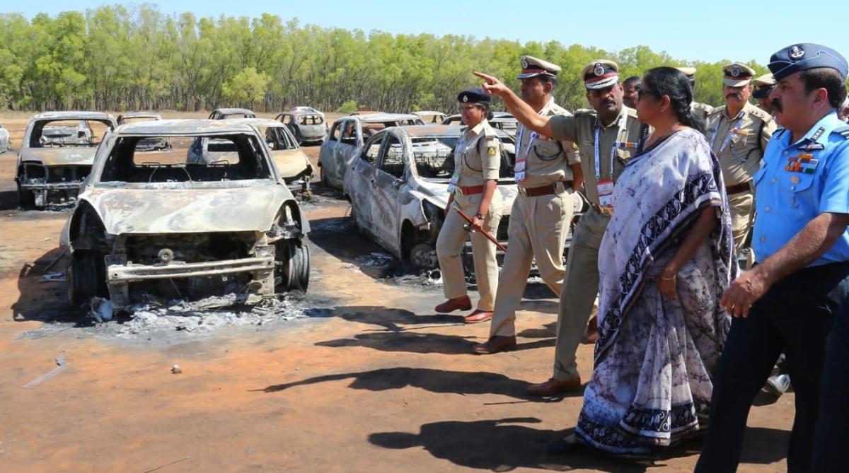 Defence Minister, Nirmala Sitharaman, Fire mishap, Aero India