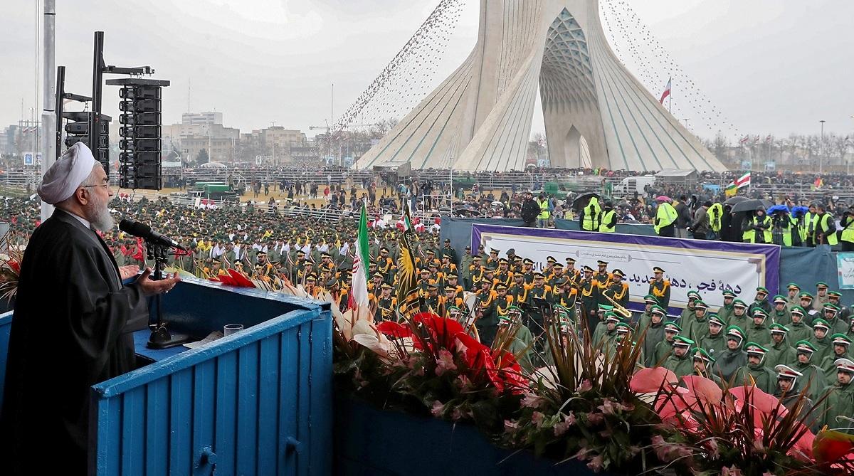 Forty years after, Iran, Mohammad Reza Shah Pahlavi, Ayatollah Ruhollah Khomeini, Hassan Rouhani, United States