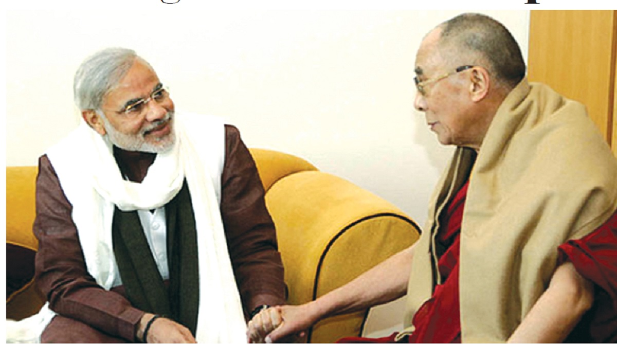 Refusing to learn from the past, Dalai Lama, Narendra Modi, Xi Jinping