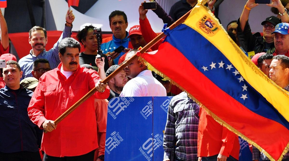 Venezuela's quest, Venezuela, Nicolas Maduro, Juan Guaidó, Donald Trump