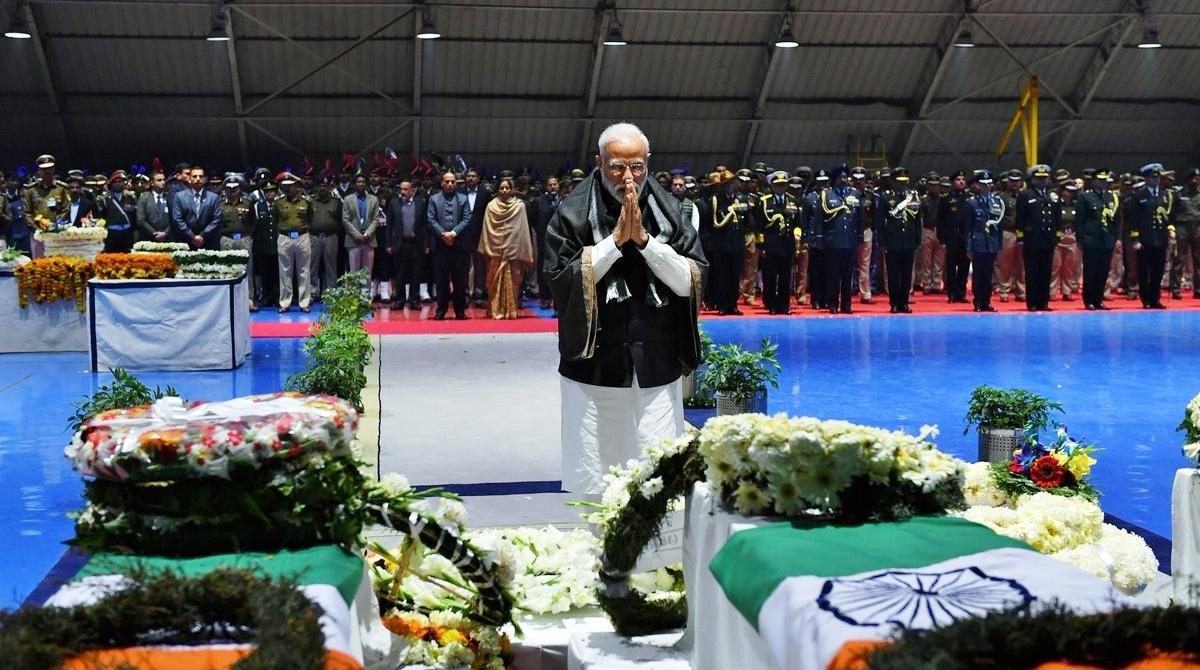 PM Narendra Modi, Rahul Gandhi, Homage, CRPF troopers