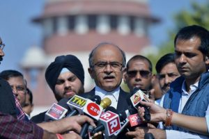 SC issues notice to Prashant Bhushan on contempt pleas filed by AG, Centre