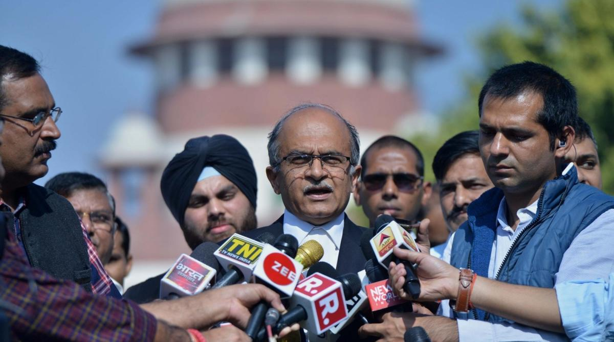 Supreme Court, Prashant Bhushan, Contempt pleas, Attorney General, KK Venugopal