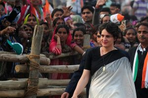 Priyanka hits campaign trail, says will 'start new kind of politics' ahead of UP visit
