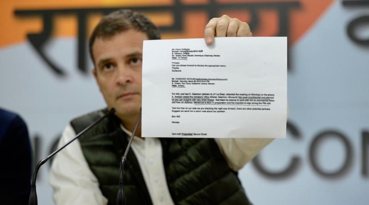 PM Modi, Middleman, Anil Ambani, Rahul Gandhi