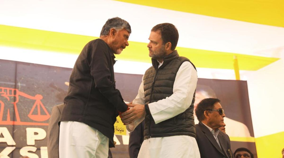 Rahul Gandhi, Chandrababu Naidu, PM Modi, Credibility, TDP chief