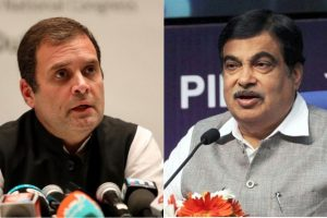 Nitin Gadkari is the only BJP leader with guts: Rahul Gandhi
