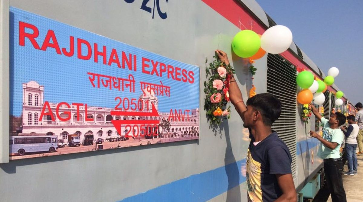 Rajdhani Express, Rajdhani Express speed, Indian Railways, Rajdhani Express train