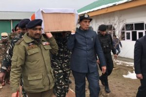 Rajnath announces curbs on civilian movement when convoys of security pass any area