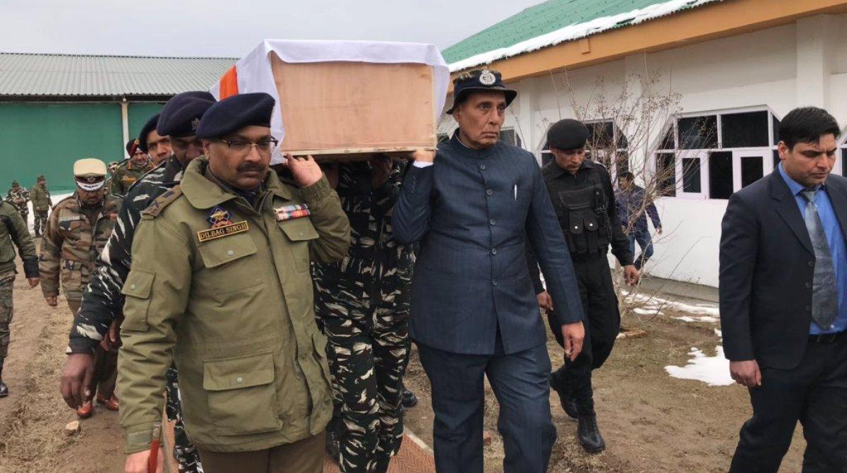 Rajnath Singh, Civilian movement, Security Convoy, Hurriyat leaders