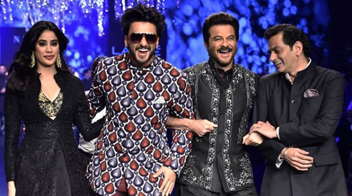 Lakme Fashion Week 2019: Ranveer Singh turns cheerleader for Anil Kapoor | See video