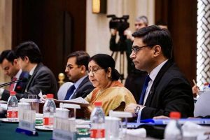 IAF strike on JeM camp pre-emptive action to stop terror: Sushma Swaraj to China, Russia