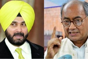 Tell your friend Imran Khan of abuse you're facing because of him: Digvijay Singh to Navjot Sidhu