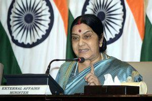 Sushma Swaraj to visit Maldives