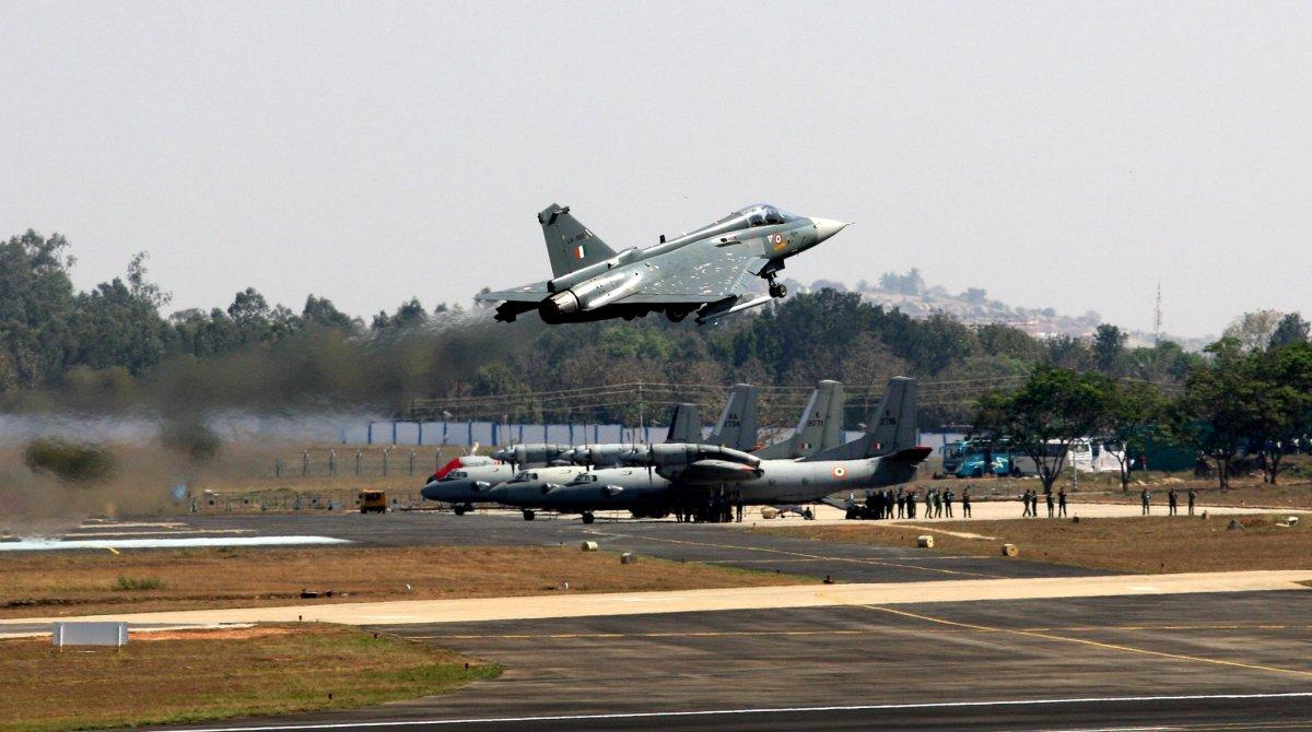 General Bipin Rawat, LCA Tejas, Aero India, Rawat in Tejas, Tejas fighter jet