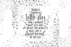 Twinkle, twinkle little star: 1806 nursery rhyme still a chart buster
