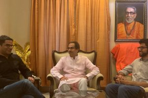 Prashant Kishor meets Shiv Sena chief Uddhav Thackeray