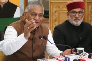 Let's not play blame game without facts: Gen VK Singh on Pulwama attack
